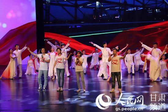 兰州市举办庆祝中华人民共和国成立70周年慈善文艺晚会