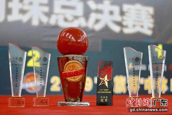 """2019""""红旗杯""""中体P3篮球王者争霸赛佛山落幕"""