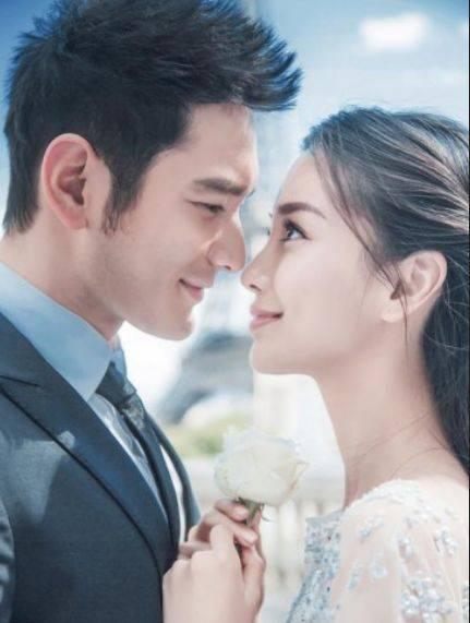 黄晓明杨颖有多狂野?看了他们的结婚照后,网友:太狂野了