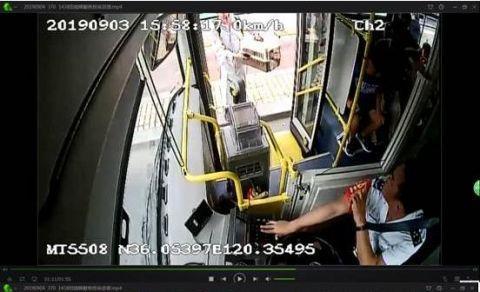 青岛:带宠物乘公交遭拒反诬公交司机骂人