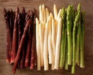 紫芦笋、绿芦笋、白芦笋谁更有营养?女性饮食抗衰老,要选对品种