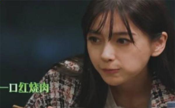 杨颖连吃半碗肉,大华问吃不胖原因,她的回答直接让倪妮不想吃
