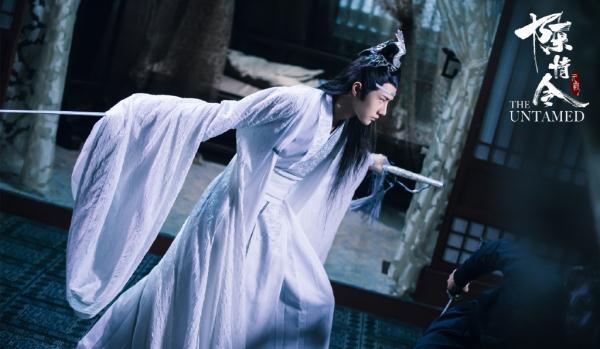 《陈情令》王一博完美诠释蓝湛的两次出场,一次仙气,一次霸气