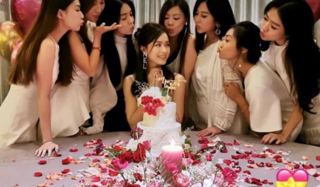 """原创文咏珊富三代男友为其举办婚前派对,美女齐聚,被赞""""颜值盛宴"""""""