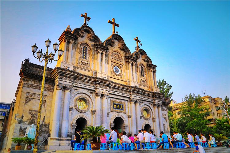 原创又发现一个西安美拍圣地!300年前意大利人所建,游客不多没门票