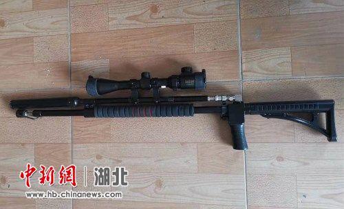 男子网购枪支零部件非法组装气枪打鸟被抓