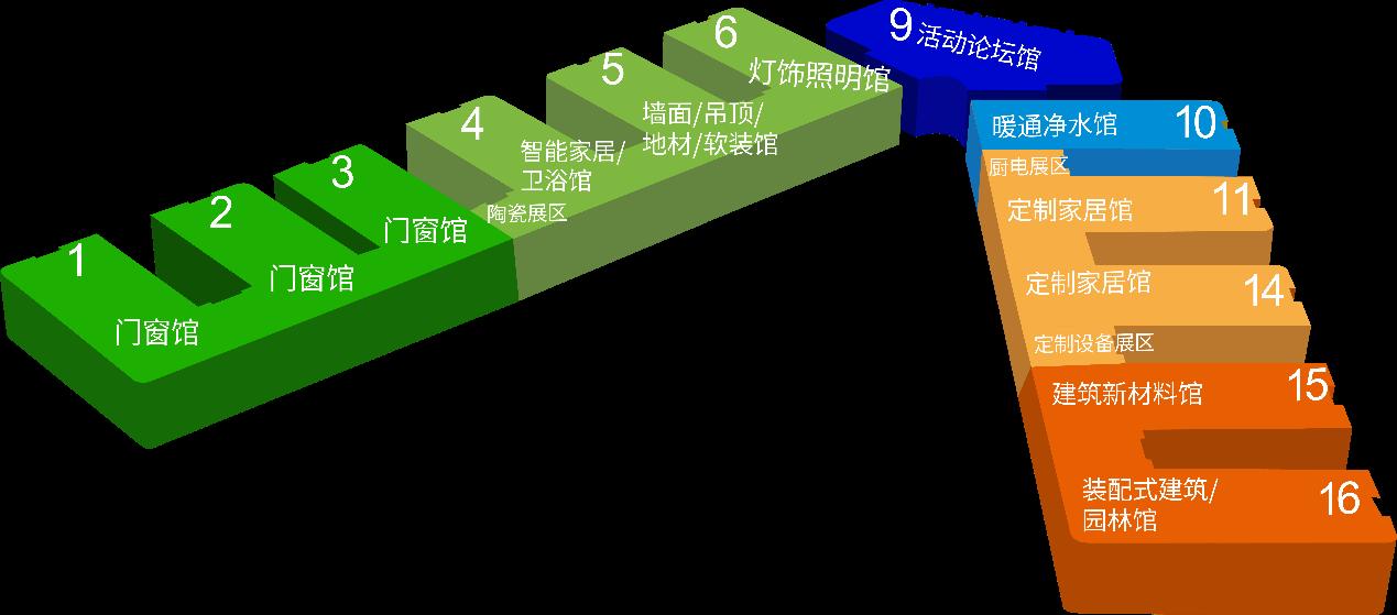 展会规划图