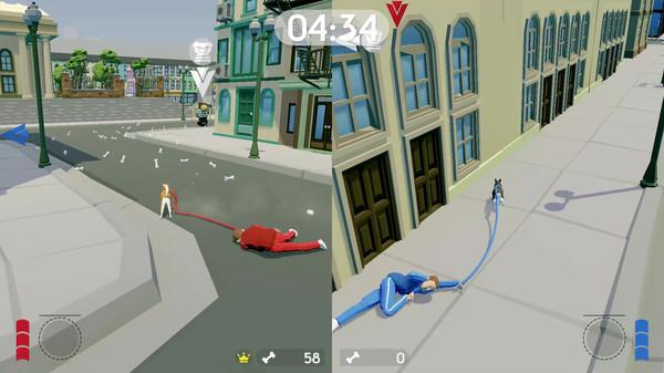 狗遛人模拟器?Steam一款沙雕遛狗游戏开启EA