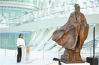 """吴为山""""雕塑""""历史人物"""