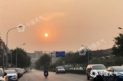 北京今明天有雨或影响早晚高峰明天最高温仅25℃