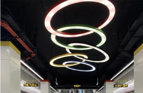 常州地铁1号线奥体中心站出入口在哪?设有几个出入口?
