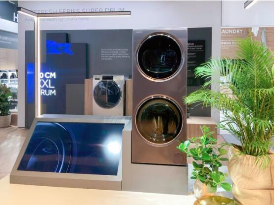 卡萨帝IFA展示融合洗衣机,颠覆欧洲洗烘场景