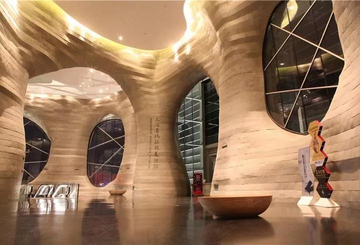 """上海喜玛拉雅美术馆未来难料,""""展览预告""""显示为空"""