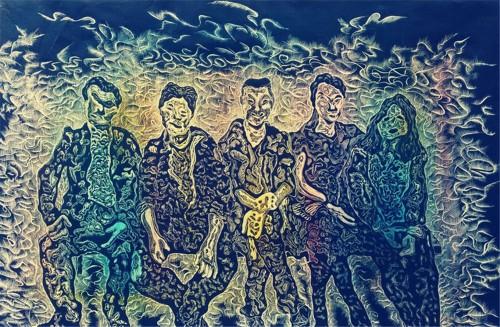著名画家陈凯与他的艺术之路