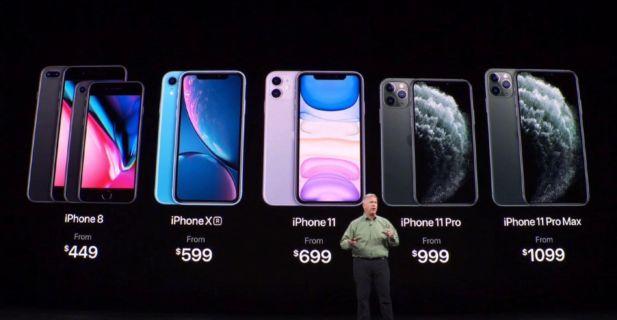 一文看2019苹果秋季新品,iPhone 11起售价5499元的照片 - 2