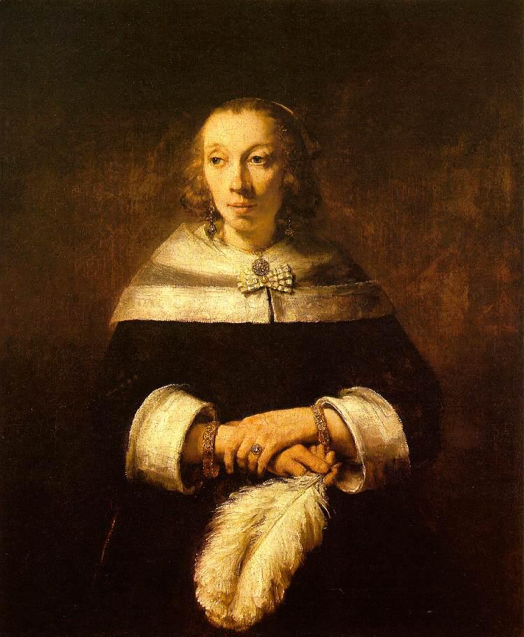 欧洲艺术家绘画作品欣赏——荷兰伦勃朗·哈尔曼松·凡·莱因作品