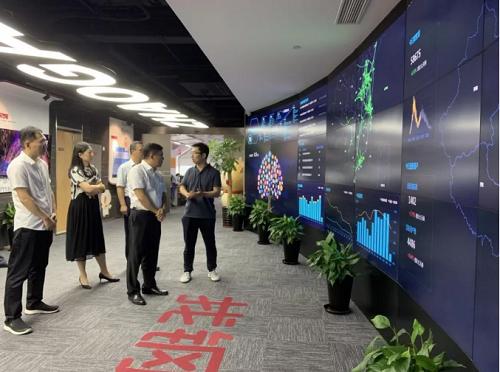 中国铁路物资集团总经理廖家生一行到访找钢网