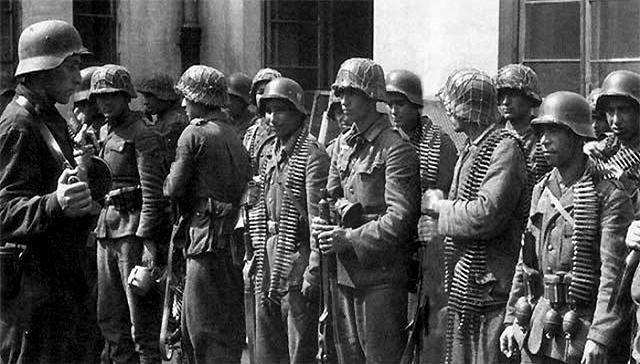 二战德国伪军结局,印度团全身而退,日本连全军覆没_德国新闻_德国中文网