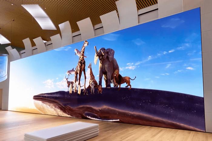 索尼Crystal LED巨幕系统:最高16K 790英寸的照片 - 2