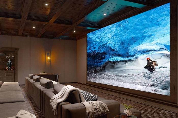 索尼Crystal LED巨幕系统:最高16K 790英寸