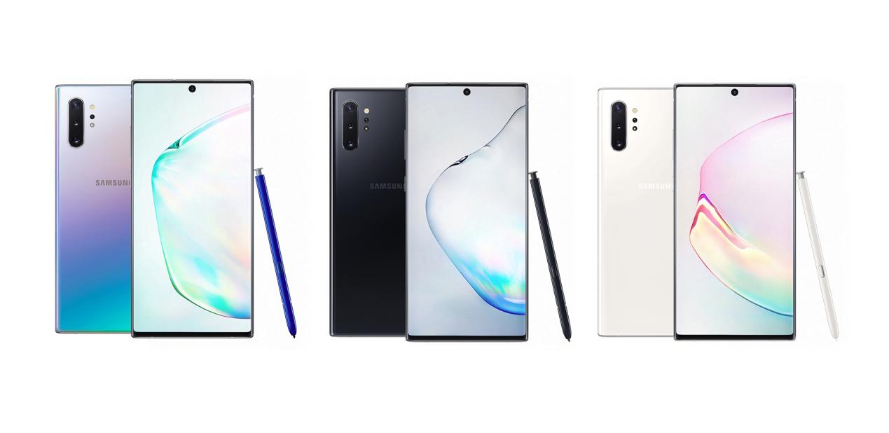 原创三星GalaxyNote10系列手机正式开售含5G版本