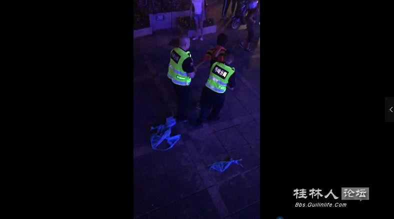 搜不到证据就告你!桂林一男子欲在市区点炮,被抓后还叫嚣!