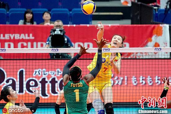 中国女排3:0喀麦隆,朱婷的接班人已呼之欲出?