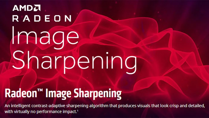 战未来!AMD为RX500/400系列显卡添加图像锐化技术支持