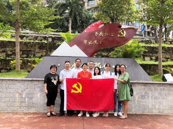 广东清远市君临志愿者协会清城分会党支部开展廉政教育活动