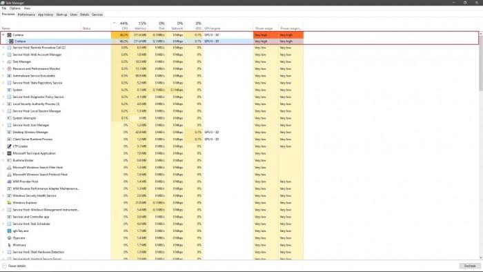 微软表示Win10的高CPU使用率问题已解决 但暂无补丁提供的照片 - 2
