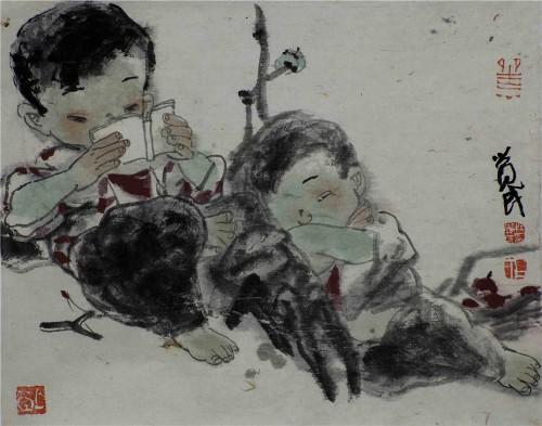 收藏与推荐:著名画家杜觉民艺术赏析