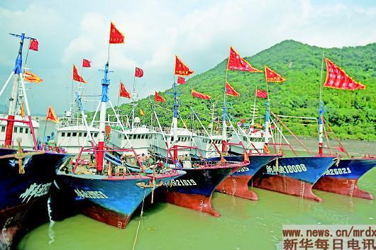 渔民庆典迎开渔
