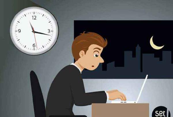 每天上班都超过12个小时,这属于违法吗?