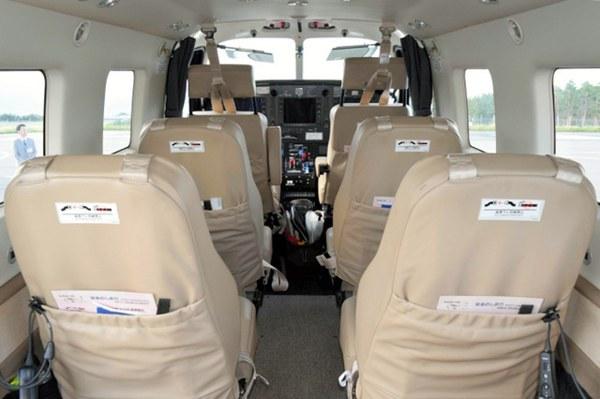 日本长野的松本机场推出小型飞机包机接送服务