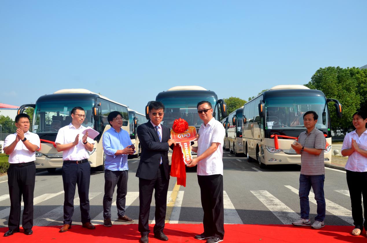 批量安凯客车出口韩国首尔,助力打造绿色出行新体验 棋牌游戏最靠谱app