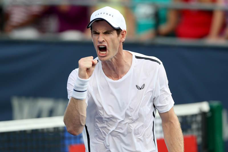 网球名将穆雷将抵中国 外媒热议其亚洲赛季复出