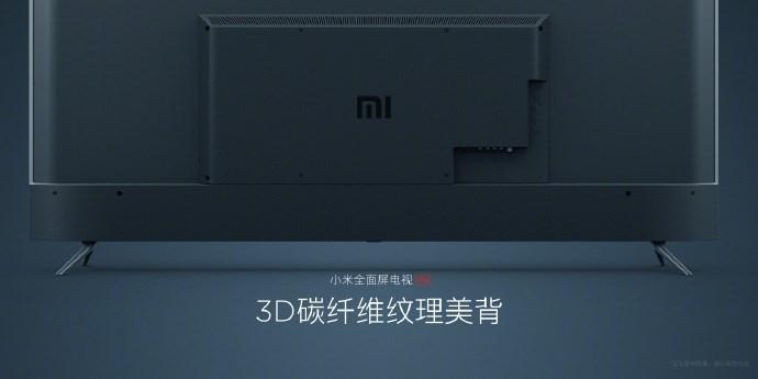 小米全面屏电视Pro真容公布:金属外观 3D美背的照片 - 5