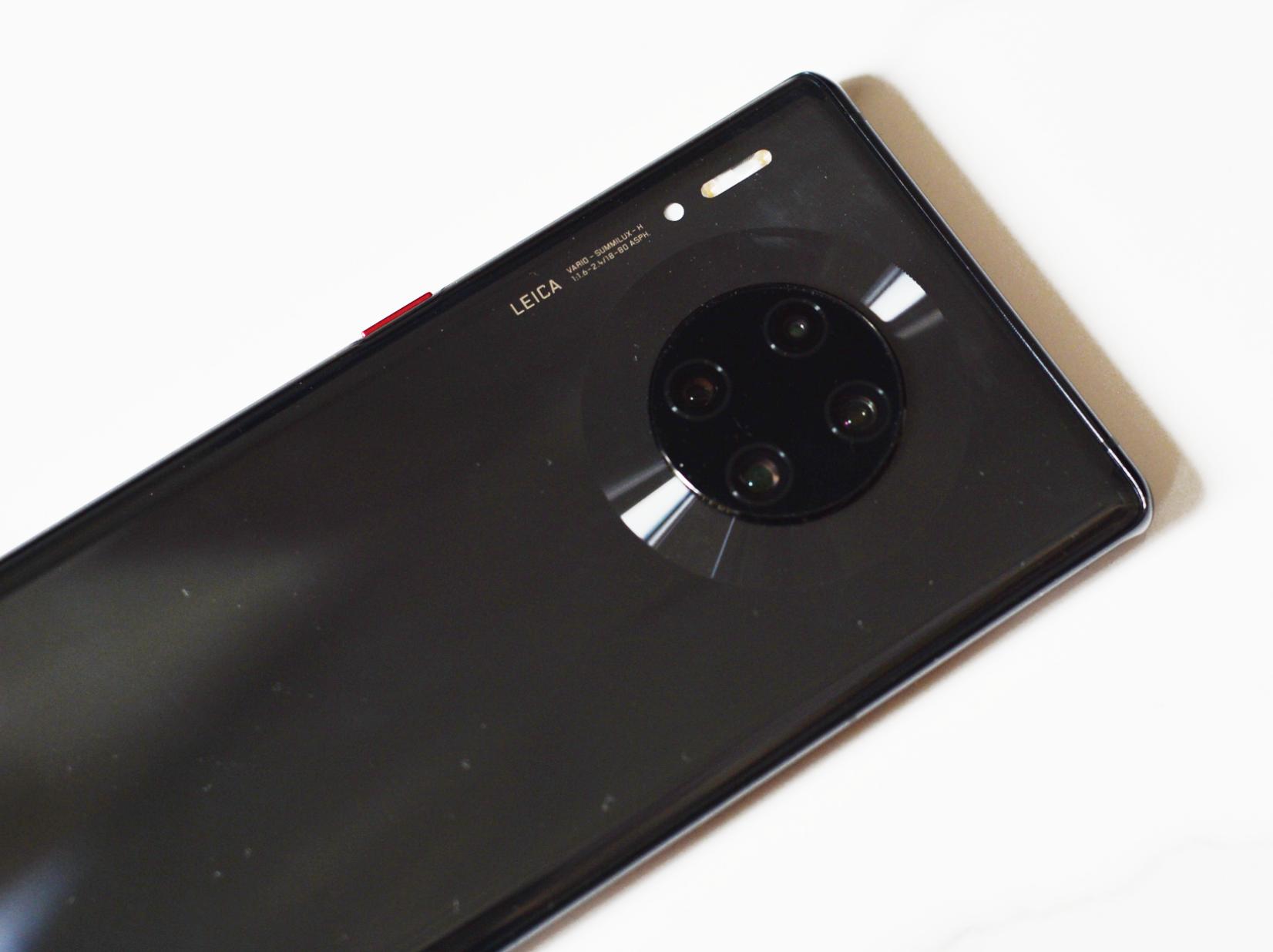 华为Mate30 Pro图赏:超曲面环幕屏,搭载麒麟990芯片的照片 - 6