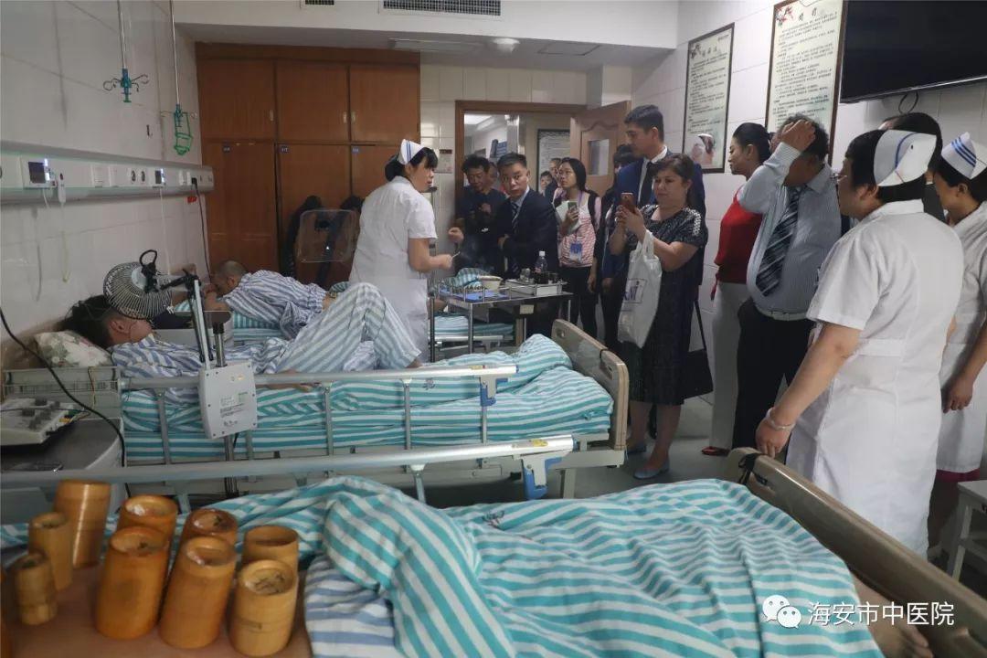 【重磅】乌兹别克斯坦代表团到海安市中医院考察,中乌中医药中心即将启动