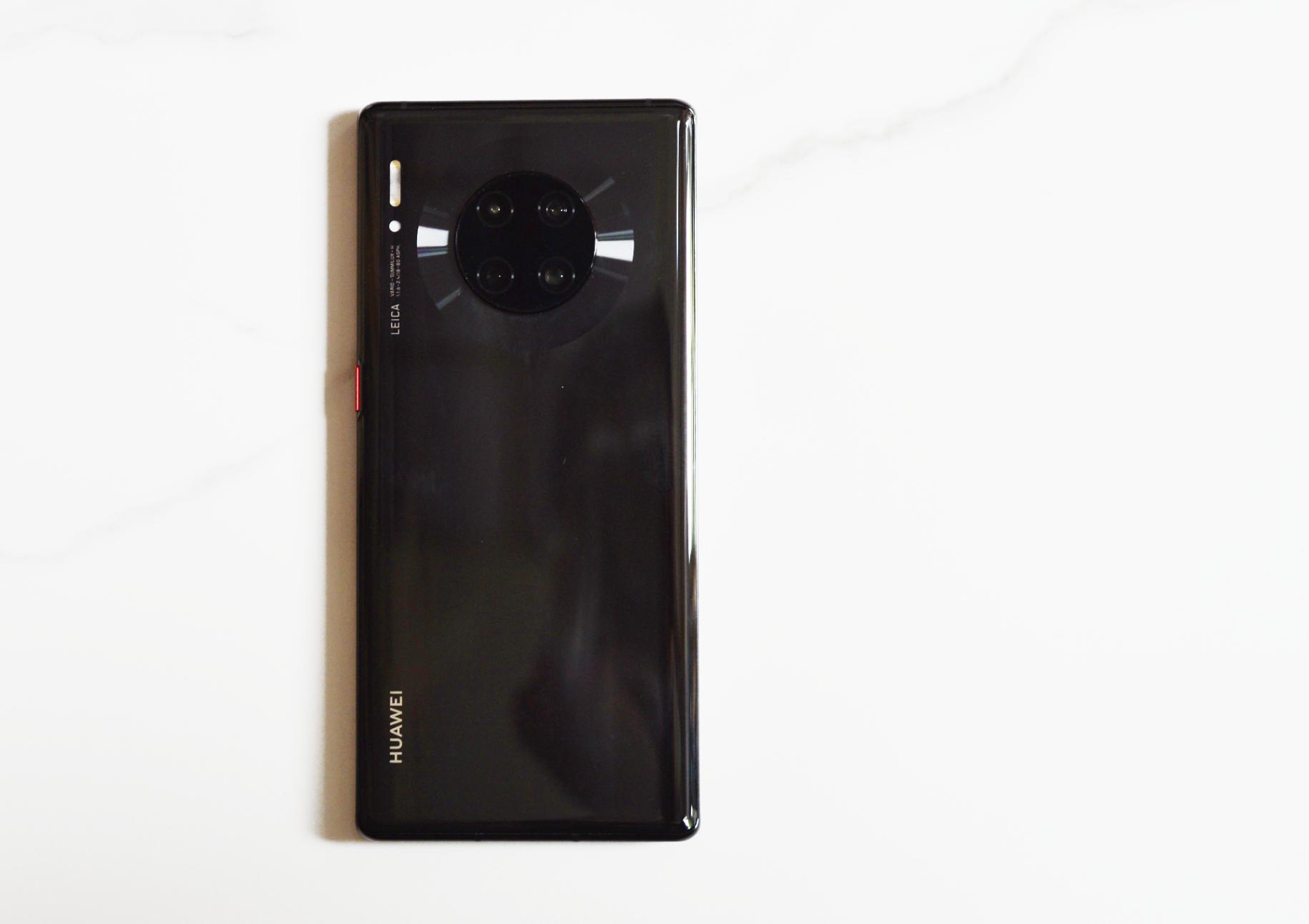 华为Mate30 Pro图赏:超曲面环幕屏,搭载麒麟990芯片的照片 - 7