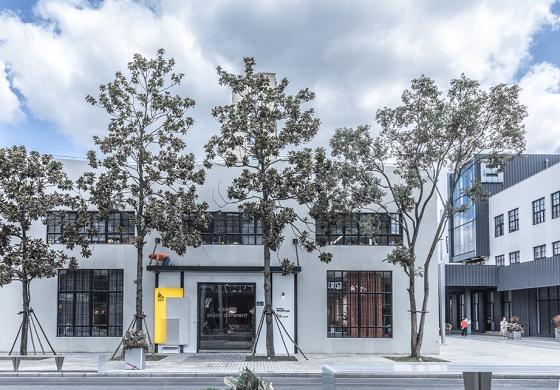 """北欧设计力注入百年老厂房,全新700㎡与众不同""""会客厅""""——尖叫设计展厅WOWLab.新址揭幕"""