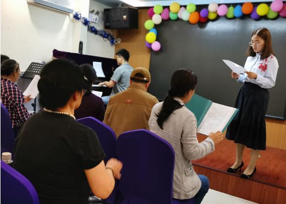郑州市亚太社区举办红色音乐课堂庆祝祖国70华诞