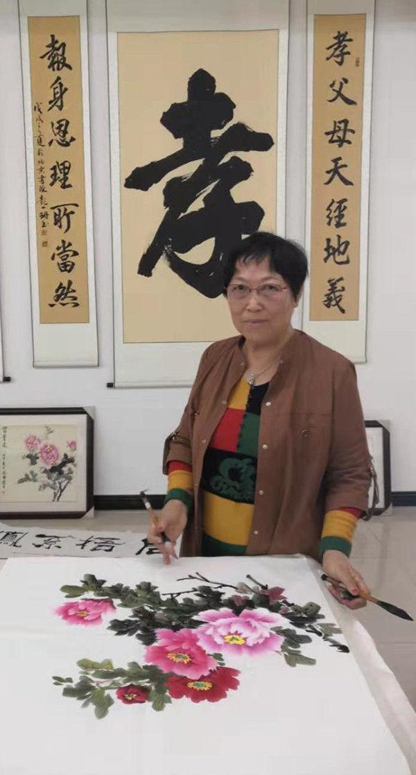 画家马惠敏——跌宕遒丽 文采炳焕