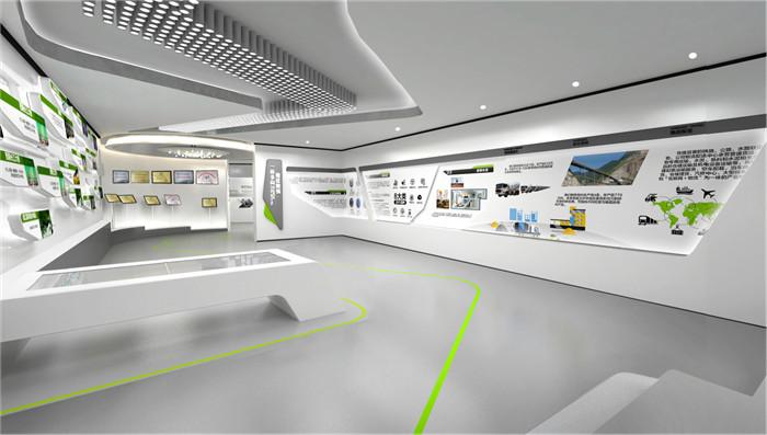 智能校园展馆陈列室设计