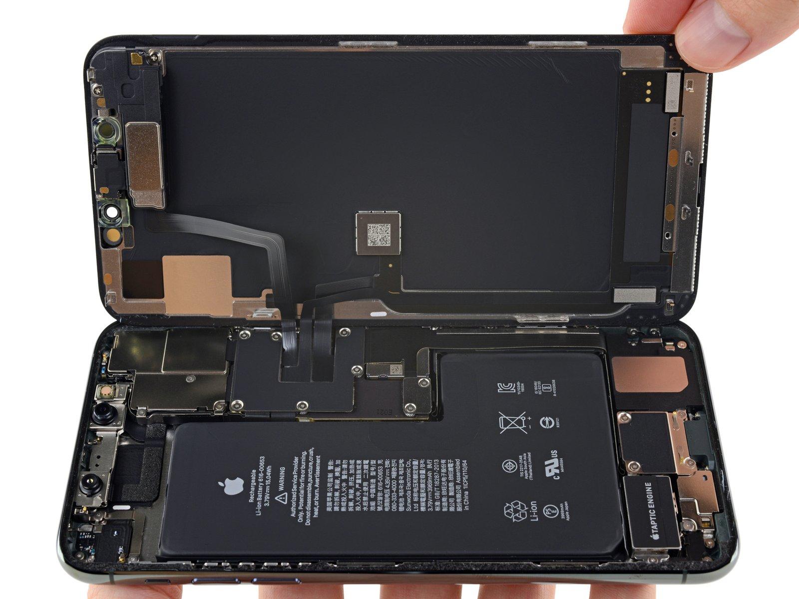 iPhone 11 Pro Max 详尽拆解 双层超小主板的照片 - 13