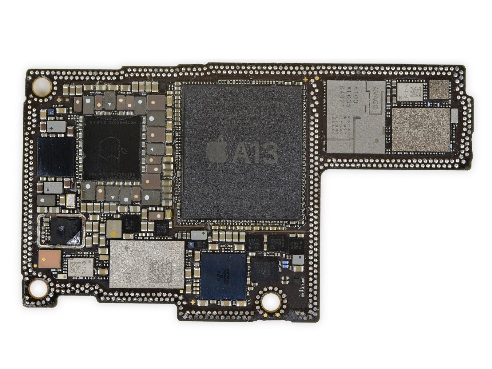 iPhone 11 Pro Max 详尽拆解 双层超小主板的照片 - 26