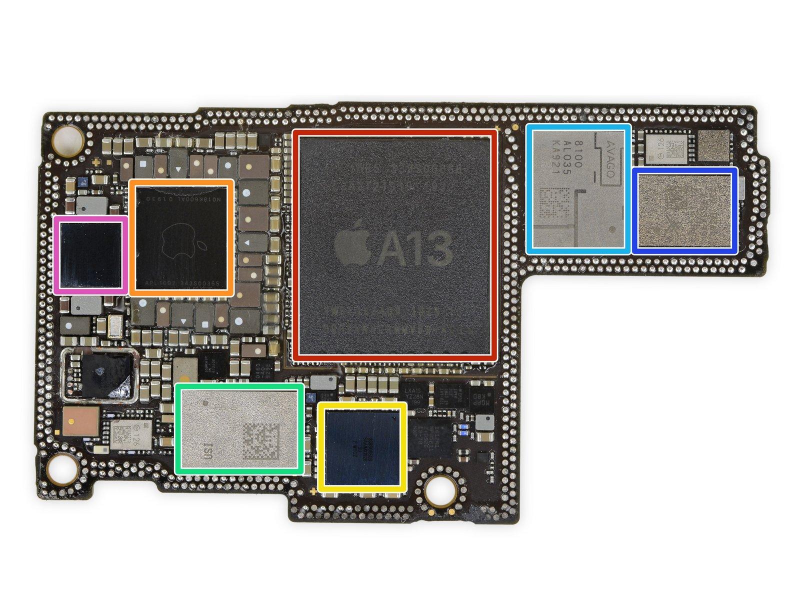 iPhone 11 Pro Max 详尽拆解 双层超小主板的照片 - 27