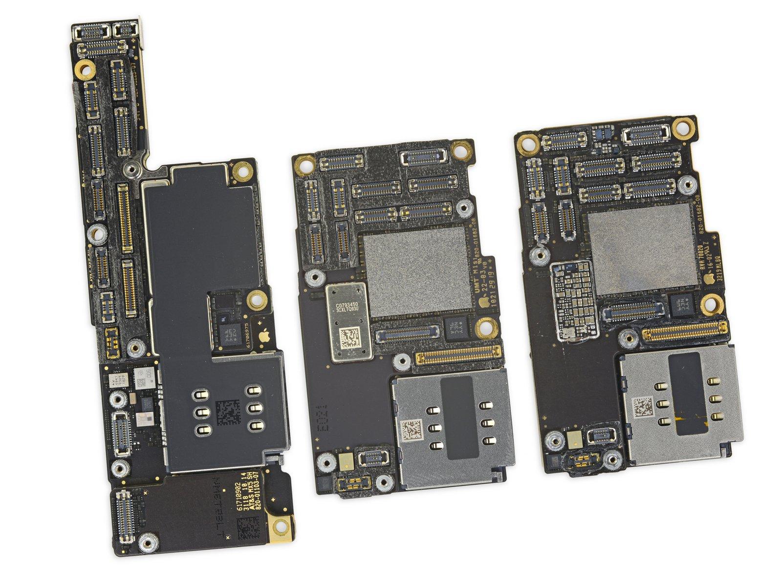 iPhone 11 Pro Max 详尽拆解 双层超小主板的照片 - 22