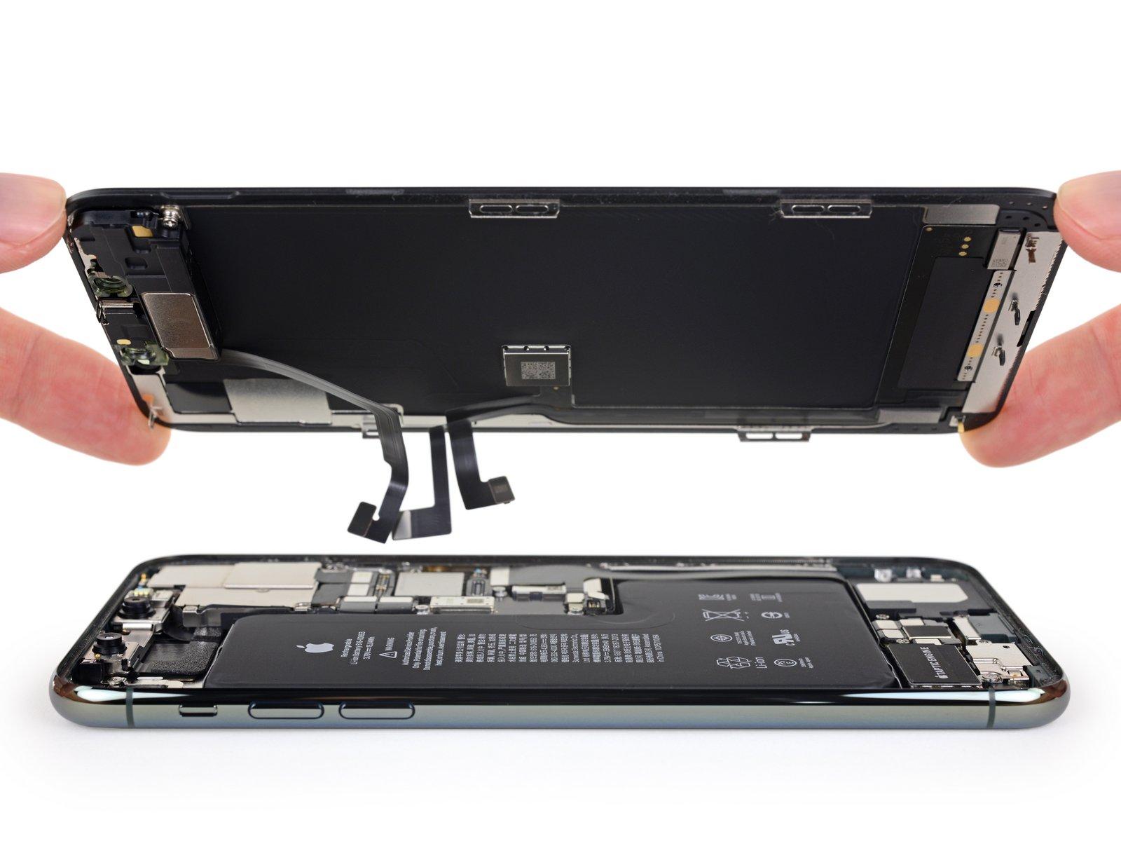 iPhone 11 Pro Max 详尽拆解 双层超小主板的照片 - 15