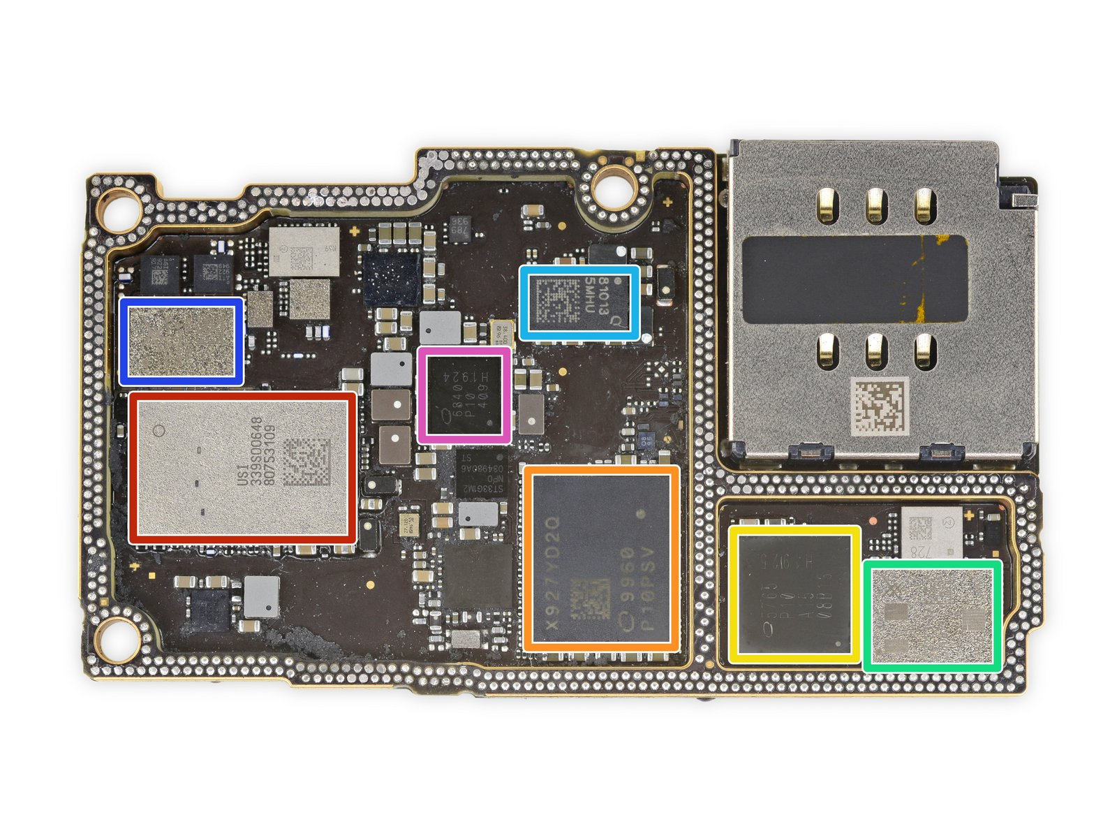 iPhone 11 Pro Max 详尽拆解 双层超小主板的照片 - 28